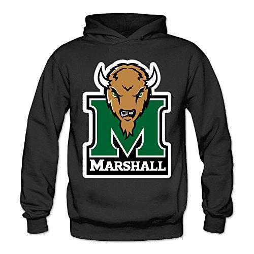 QK Marshall University Thundering Herd Women's Sport Sweatshirt Black XXL (Marshall Thundering Herd Lamp)