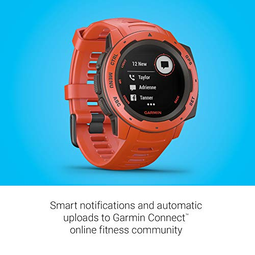garmin instinct rugged outdoor watch with gps features glonass and galileo heart rate. Black Bedroom Furniture Sets. Home Design Ideas