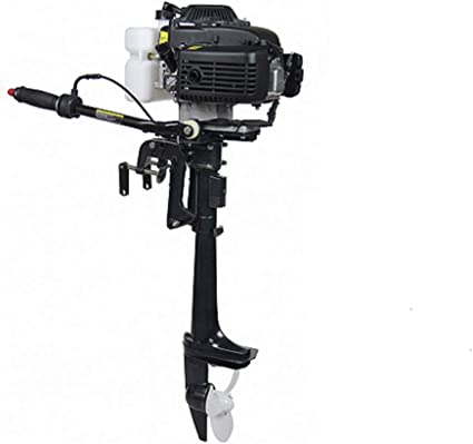 4HP 4 Stroke Outboard Motor 52CC Inflatable Boat Engine Air Cooling Boat Motor