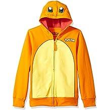Pokemon Boys' Charmander Costume Hoodie