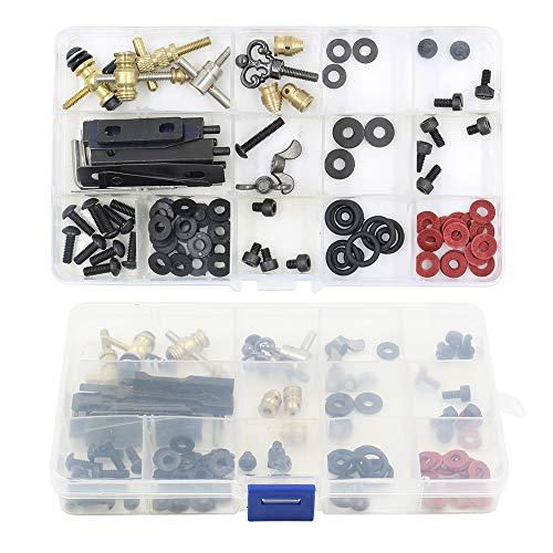 Autdor Tattoo Machine Parts Kit - DIY Tattoo Parts and Accessories for Tattoo Machine Kits Repair Tattoo Parts Kit and Maintain Tattoo Kits for Tattoo Gun, Tattoo Supplies (Parts Coils Tattoo Machine)