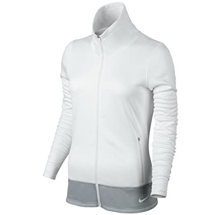 7cda9599b7d1 Image Unavailable. Image not available for. Color  Nike Thermal Full Zip  Golf Jacket 2015 Womens White ...