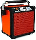 ION Job Rocker Plus Bluetooth Speaker, Orange (Certified Refurbished)