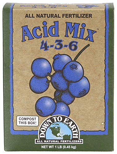 Down To Earth All Natural Acid Mix Fertilizer 4-3-6, 1 lb