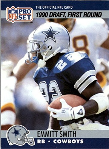 1990 Pro Set #685 Emmitt Smith RC rookie card cowboys - NM-MT