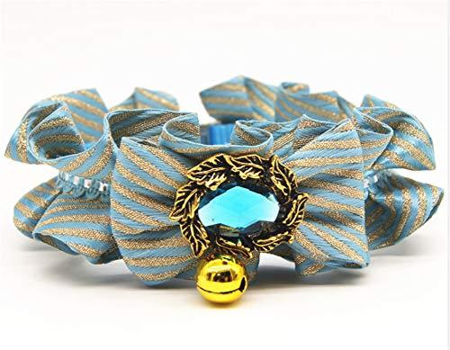 (Fully 1 X Pet Collar Bib Bowtie Necktie for Dogs Cats Bearded Dragon Guinea Pig Ferrets Rabbits (S: Neck: 16-22cm/6.29-8.66