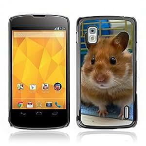 Carcasa Funda Case// Hamster V0000016 //LG NEXUS 4