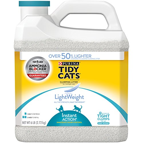 Purina Tidy Cats LightWeight Instant Action Multiple Cats Clumping Cat Litter (Clumping Cat Low Track Litter)