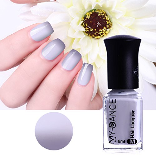 BORN PRETTY 1 Bottle 6ml Color Changing Thermal Nail Polish