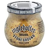 Inglehoffer Stone Ground Mustard, 4-Ounce (Pack of 12)
