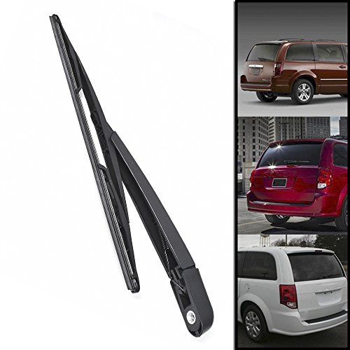 Rear Window Wiper Arm + Blade Fit For 2008-2015 Dodge Grand Caravan Chrysler Town & Country (Chrysler Town Country Cross)