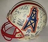1993 Houston Oilers Team Signed Full Size Authentic Helmet Buddy Ryan Warren Moon - JSA Authentic Autograph