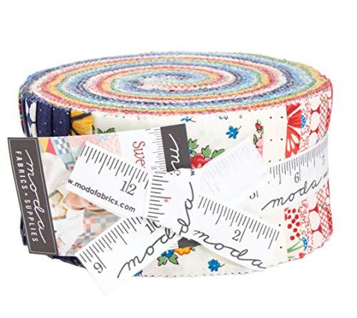 American Jelly - Moda Fabrics Sweet Harmony American Jane Jelly Roll Strips
