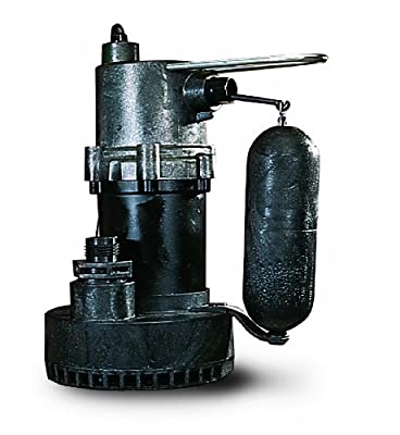 Little Giant 505700 1/4 Horsepower 5.5-ASP Submersible Sump or Utility Pump