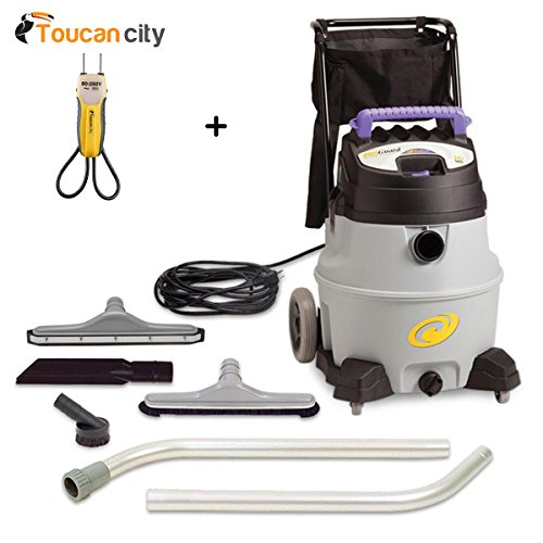 Toucan City Voltage-tester and ProTeam ProGuard 16 gal. Wet Dry Vac with Tool Kit 107386 (Vac Dry Tank Gal Wet)