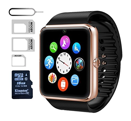 eMARS Smart Watch Bluetooth with 16 GB SD Card and Sim Ca...
