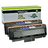 GREENCYCLE 2 Pack Black Compatible for Samsung 116L MLT-D116L MLTD116L Toner Cartridges High Yield use in Samsung Xpress SL-M2825DW SL-M2835DW/XAA SL-M2885FW/XAA SL-M2875FD/FW CL-M2625D Imaging Unit