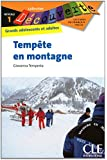 Tempête en montagne - Niveau 1 - Lecture Découverte - Livre