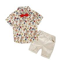 Baby Clothing Set, Fashion Little Boys' Cotton Clothing Short Sets
