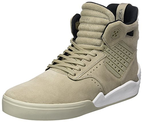 Supra Skytop, Men's Hi-Top Sneakers Green (Olive/Khaki-white)