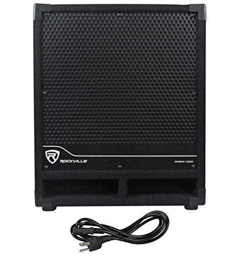 Rockville New RBG12S Bass Gig 1400 Watt Active Powered PA Su