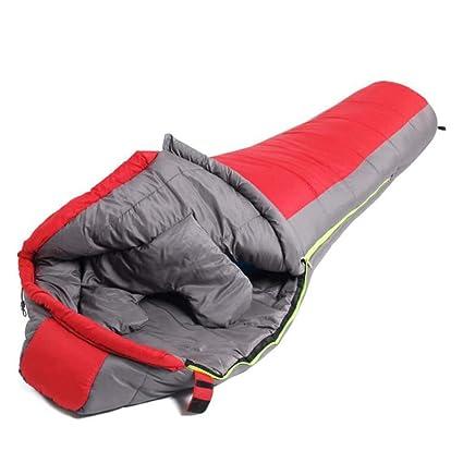 WCL Se Pueden Empalmar Bolsas De Dormir Momia Saco De Dormir De Algodón Cálido Invierno Engrosado