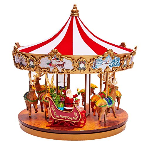 - BrylaneHome Very Merry Carousel - Multi