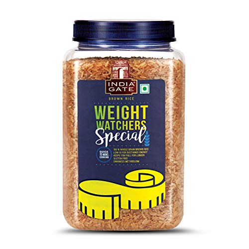 India Gate Brown Rice, 1kg Jar with Free India Gate Quinoa, 200g