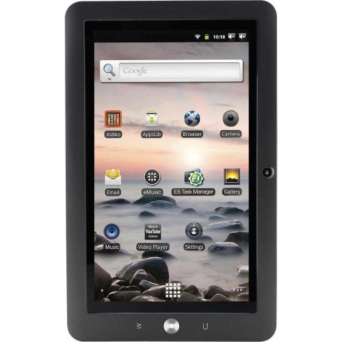 Coby Kyros 7-Inch Android 2.3 4 GB Internet Touchscreen Tablet with Stylus MID7120-4G (Black) (Kyros Android Tablet Coby)