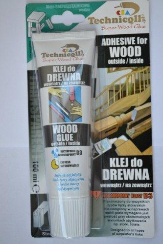 g Clear Adhesive Glue For Wood Chipboard Plywood Mdf Blockboard 100Ml ()