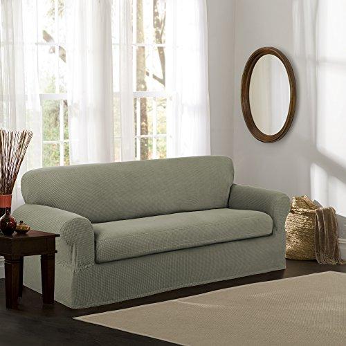 Maytex Piece Furniture Slipcover, Green
