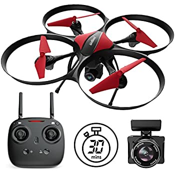 Force1 U49C Drone With Camera For Beginners HD Beginner Quadcopter W Altitude Hold