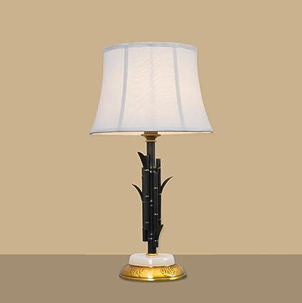 Lámpara de mesita de noche de estilo vintage Lámpara de mesa ...