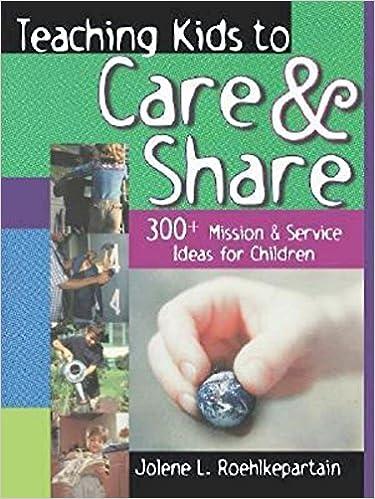 Teaching Kids to Care & Share