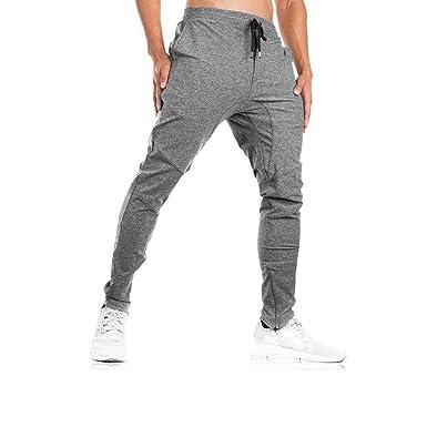 Odot Pantalones Largos Deportivos De Jogging Running para Hombre ...