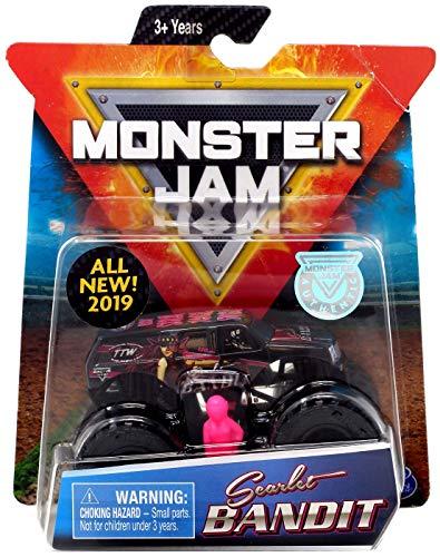 (Monster JAM 1:64 Scale, Scarlet Bandit All New 2019)