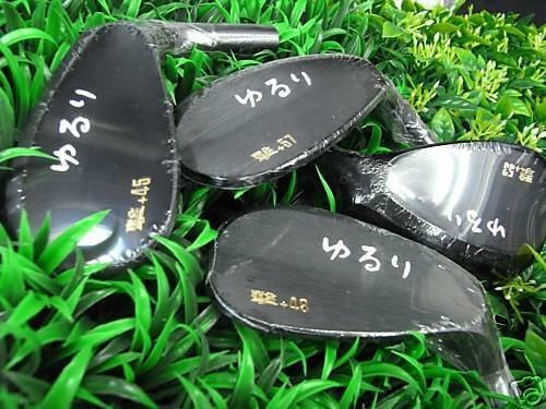 YURURI JAPAN KEIGEKIKU TARGET SPIN FORGED WEDGE 53 deg Head Only Japanese Logo 2017 by YURURI (Image #1)