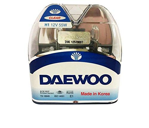 (DAEWOO H1 12V 55W Headlight Bulb, 2 pieces 1 set)