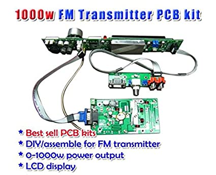GOWE 1000W PCB Assemble DIY Kit+SE-1500-48 Power Supply 48V 31 3A
