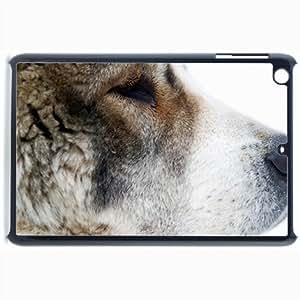 Customized Back Cover Case For iPad Mini 2 Hardshell Case, Black Back Cover Design Asian Shepherd Personalized Unique Case For iPad Mini 2 wangjiang maoyi