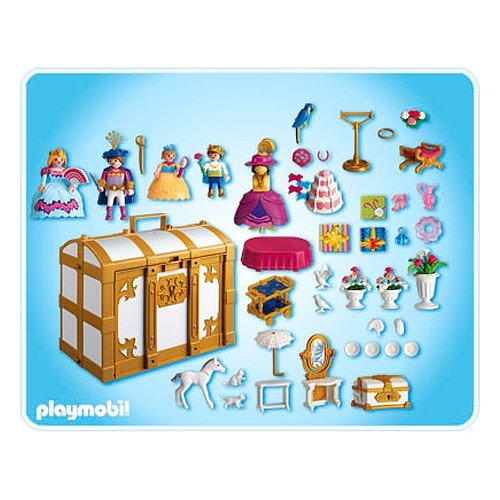 playmobil 4249 my take along princess fantasy chest amazoncouk toys games