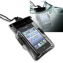 Everydaysource Premium Waterproof Bag Case Lanyard Compatible With Apple iPod Nano 7 (7th Generation) - Black
