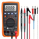 Neoteck 4000 Counts Digital Multimeter for AC/DC Volt Current Resistance Capacitance Frequency Temperature CMOS and TTL (Transistor-Transistor Logic)--【Advanced Version】