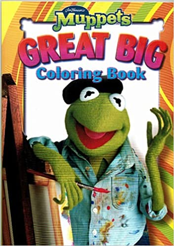 Muppets Great Big Coloring Book 9781592260164 Amazoncom Books