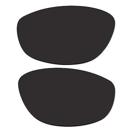 14f66d1b41 Amazon.com   ACOMPATIBLE Replacement Black Polarized Lenses for Oakley  Hatchet Wire Sunglasses   Sports   Outdoors