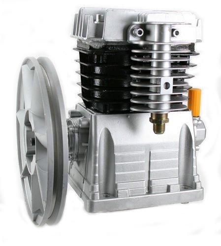 GHP 1200RPM 11.5 CFM 115PSI Max 2HP Aluminum Twin Cylinder Air Compressor Pump