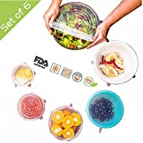 Here's a new twist on the old food storage container tops you have in your cupboard!  The 6 different diameter sizes offer - 8.3 inch/ 21.0 cm diameter - Large salad bowl, Cuisinart mixing bowl 1 gallon paint can. You also can use them as a gripper f...