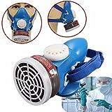 QOJA self priming filter cartridge half gas organic vapor mask