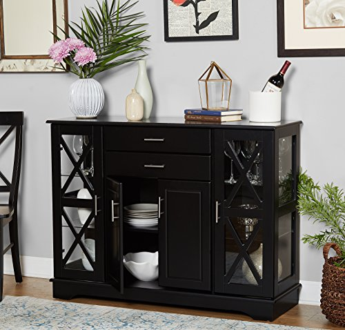 Target Marketing Systems 30110BLK Kendall Buffet, Black