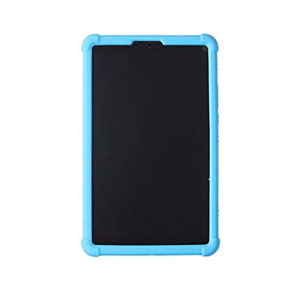 online retailer 9fe87 a294a Meijunter Mi Pad 4 Case - Light Weight Anti Slip Stand Silicone Gel Rubber  Case Cover for Xiaomi Mi Pad 4 8 inch 2018,Sky Blue